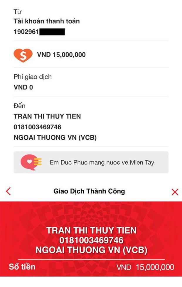 Sau 39 giờ kêu gọi, Thuỷ Tiên thông báo nhận được số tiền khủng hơn 6 tỷ đồng hỗ trợ bà con miền Tây vượt qua hạn mặn - Ảnh 5.