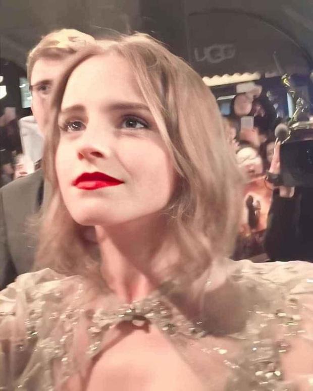 Bức ảnh chụp lướt Emma Watson gây sốt MXH: Công chúa Disney đích thực với nhan sắc cổ tích là đây chứ đâu - Ảnh 2.