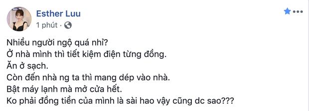 Ai đã làm gì khiến Hari Won giận tím mặt phải viết status bóc phốt: Không phải tiền của mình là xài hao vậy sao? - Ảnh 3.