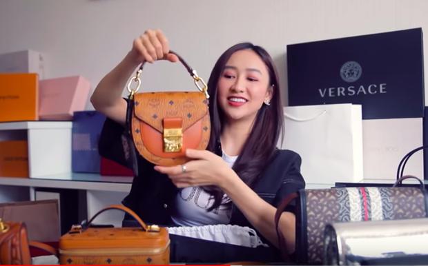 Biến căng: Á hậu Hà Thu tung clip đập hộp hàng hiệu nhưng chưa gì đã bị bóc phốt là đồ đi mượn? - Ảnh 3.