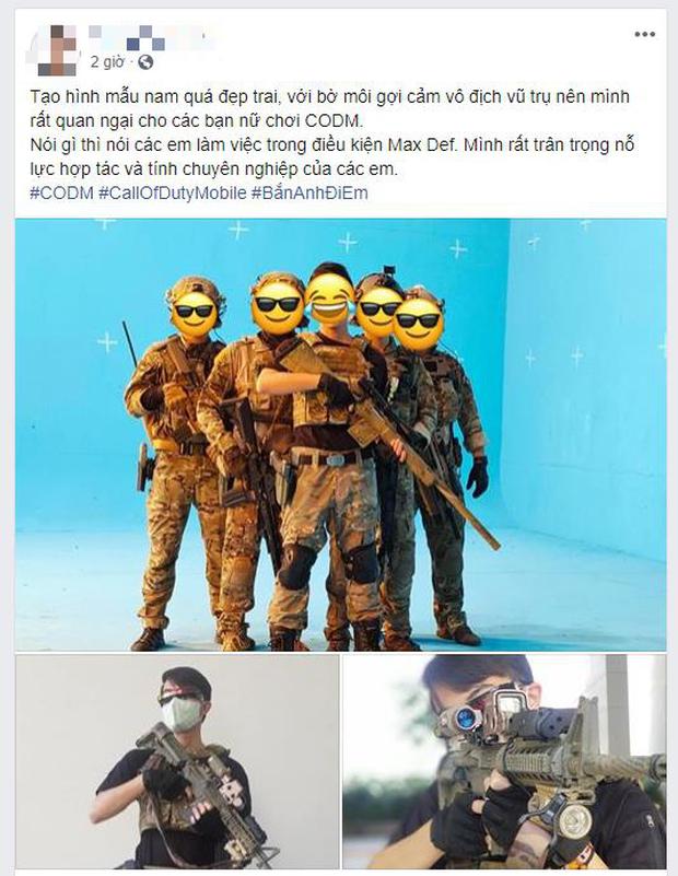 Call of Duty: Mobile rò rỉ những hình ảnh đầu tiên, nghi vấn streamer triệu views Cris Phan sẽ là đại sứ! - Ảnh 1.