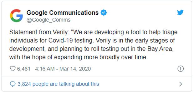 Tổng thống Mỹ tuyên bố nhờ Google làm website chống virus corona nhưng chính Google lại ngơ ngác chẳng hiểu gì? - Ảnh 2.