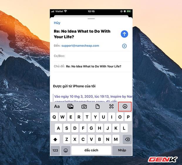 Cách tạo chữ ký cá nhân cực nhanh trên iPhone để ký các giấy tờ khi cần thiết - Ảnh 3.
