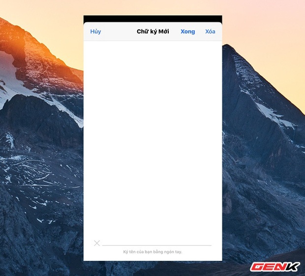 Cách tạo chữ ký cá nhân cực nhanh trên iPhone để ký các giấy tờ khi cần thiết - Ảnh 6.