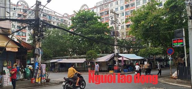 Một người khai báo có liên quan ca bệnh 34: Phong tỏa chung cư Hòa Bình ở TP HCM - Ảnh 6.
