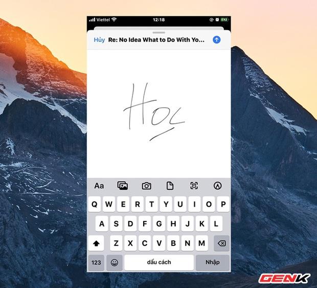 Cách tạo chữ ký cá nhân cực nhanh trên iPhone để ký các giấy tờ khi cần thiết - Ảnh 10.