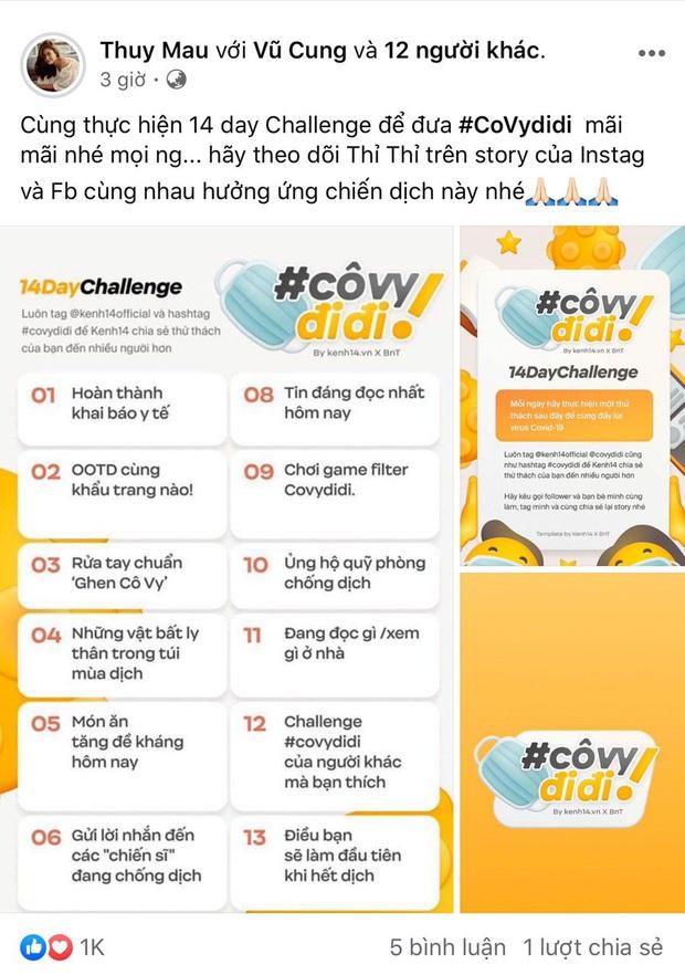 Sao Việt đang rần rần tham gia Cô Vy đi đi: Từ Huyền My, Hoài Sa đến loạt nghệ sĩ giải quyết thử thách số 1 chỉ trong 3 phút! - Ảnh 14.