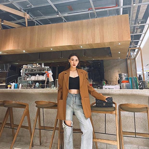"""Street style hội gái xinh mặc đẹp Instagram: Chỉ cần chân váy xinh hoặc quần """"hack dáng"""" là outfit đạt điểm 10 rồi - Ảnh 7."""
