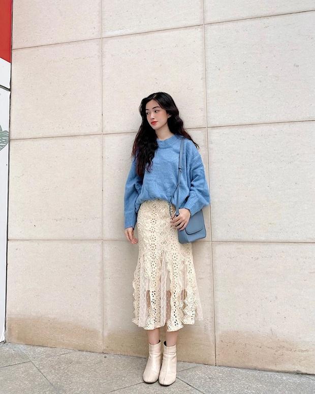 """Street style hội gái xinh mặc đẹp Instagram: Chỉ cần chân váy xinh hoặc quần """"hack dáng"""" là outfit đạt điểm 10 rồi - Ảnh 11."""