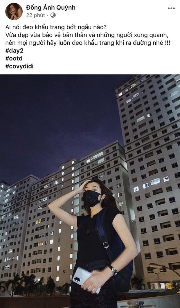 OOTD cùng khẩu trang với sao Vbiz: Quang Bảo cực ngầu, Chúng Huyền Thanh mẫu mực thế này thì Cô Vy không có cửa đến nhà! - Ảnh 14.