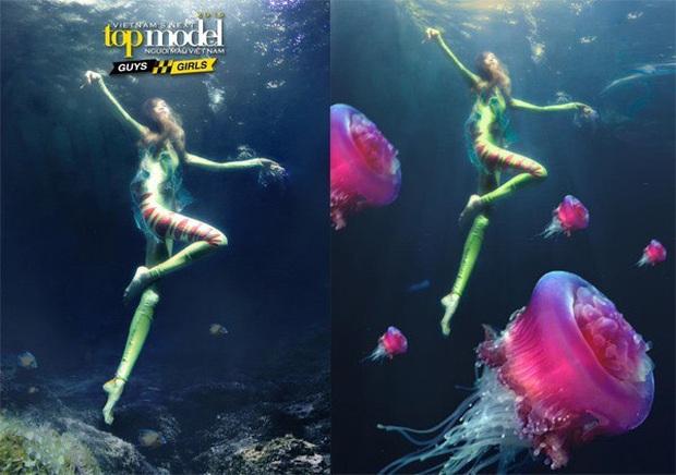 Ít ai nhớ Denis Đặng từng ra tay chữa cháy cho bộ ảnh dưới nước bị đánh giá thảm họa của Vietnams Next Top Model! - Ảnh 5.