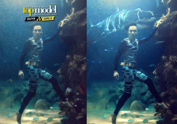 Ít ai nhớ Denis Đặng từng ra tay chữa cháy cho bộ ảnh dưới nước bị đánh giá thảm họa của Vietnams Next Top Model! - Ảnh 3.