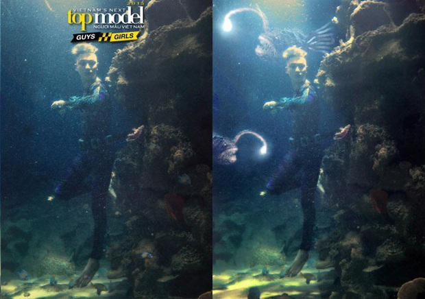 Ít ai nhớ Denis Đặng từng ra tay chữa cháy cho bộ ảnh dưới nước bị đánh giá thảm họa của Vietnams Next Top Model! - Ảnh 4.