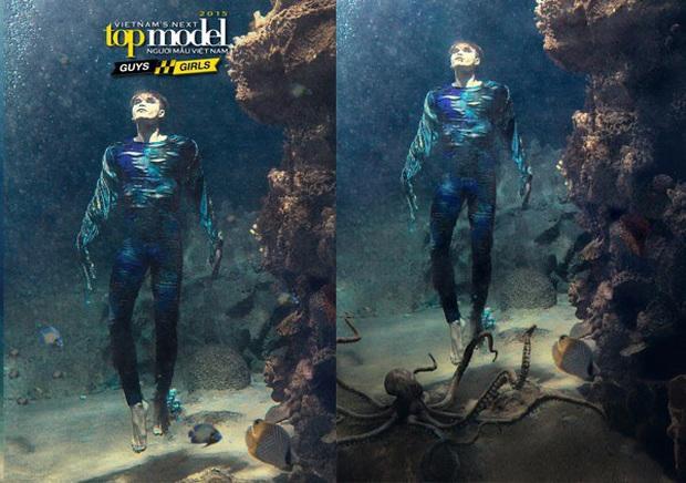 Ít ai nhớ Denis Đặng từng ra tay chữa cháy cho bộ ảnh dưới nước bị đánh giá thảm họa của Vietnams Next Top Model! - Ảnh 6.