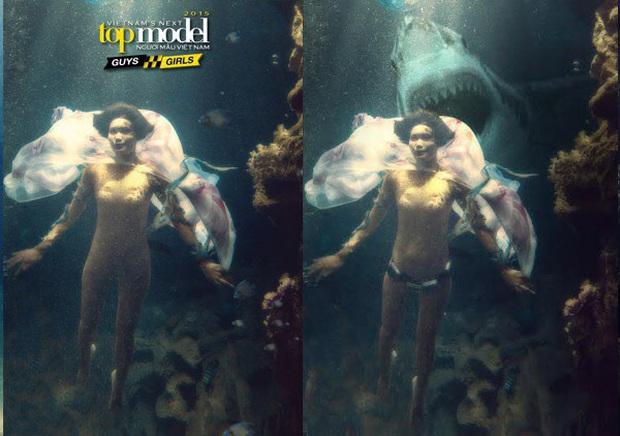 Ít ai nhớ Denis Đặng từng ra tay chữa cháy cho bộ ảnh dưới nước bị đánh giá thảm họa của Vietnams Next Top Model! - Ảnh 7.