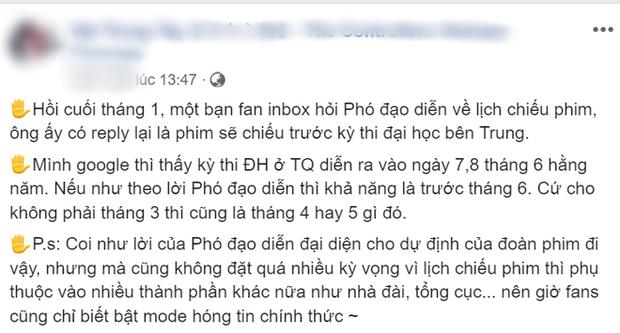 Khán giả khóc ròng vì Vật Trong Tay - phim có nam chính tệ bạc nhất màn ảnh Hoa Ngữ tiếp tục hoãn chiếu - Ảnh 3.