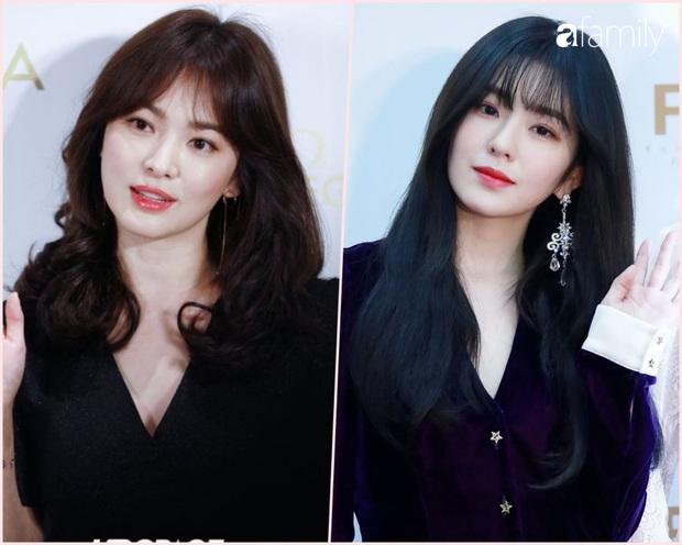 Irene ngày một xinh và sang, lại còn gợi nhắc đến Song Hye Kyo khi cùng để một kiểu tóc, một style lên đồ - Ảnh 3.