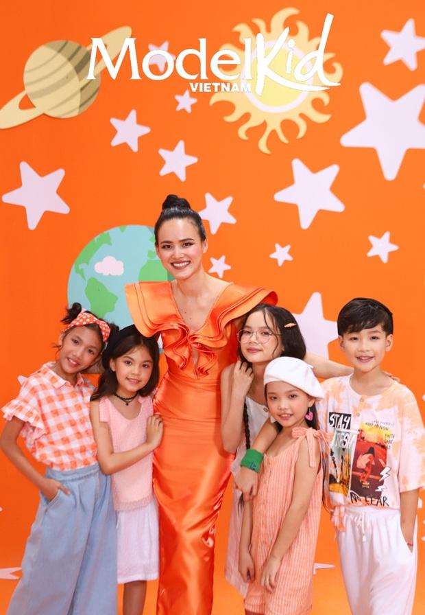 Hình hiệu Model Kid Vietnam: Team Tuyết Lan, Mâu Thủy, Quang Đại hay Hương Ly ấn tượng nhất? - Ảnh 5.
