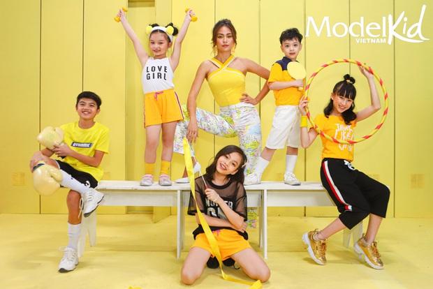 Hình hiệu Model Kid Vietnam: Team Tuyết Lan, Mâu Thủy, Quang Đại hay Hương Ly ấn tượng nhất? - Ảnh 8.