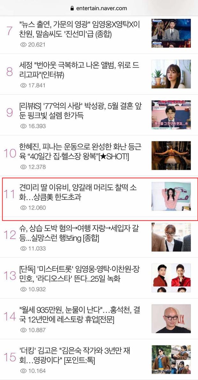 Mới sáng ra con gái Mama Chuê đã lên top Naver và hàng loạt đầu báo xứ Hàn, nhan sắc thế nào mà được chú ý đến vậy? - Ảnh 6.