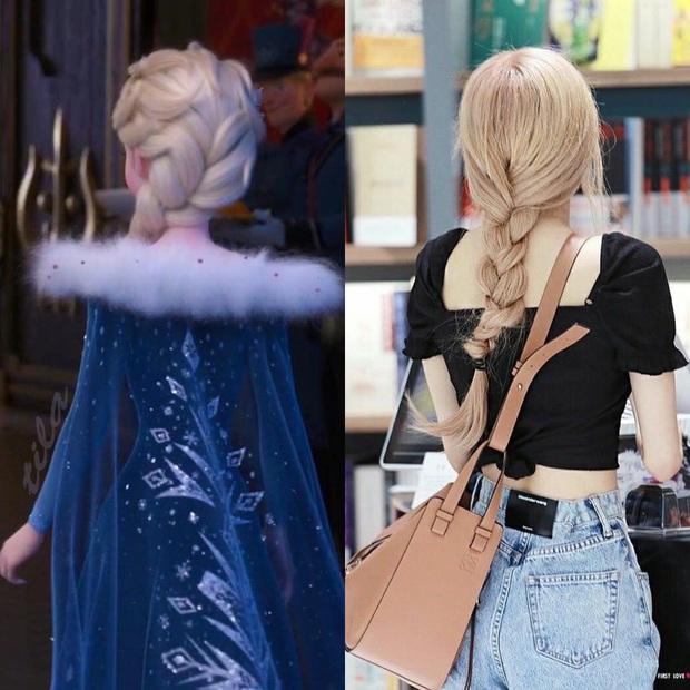 Tóc vàng xinh đẹp như tiên tử, chẳng trách Rosé cân hết cả dàn công chúa Disney khiến ai ngắm cũng mê - Ảnh 3.