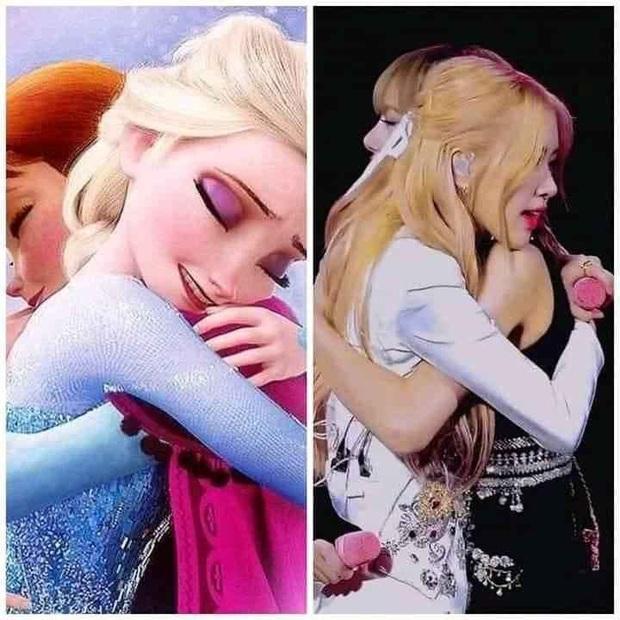 Tóc vàng xinh đẹp như tiên tử, chẳng trách Rosé cân hết cả dàn công chúa Disney khiến ai ngắm cũng mê - Ảnh 4.
