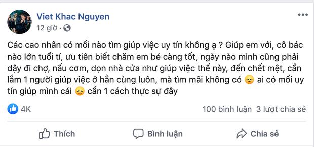 Chỉ với một chi tiết, netizen nhanh chóng soi ra tin mừng vợ Khắc Việt mang thai con đầu lòng sau 2 năm kết hôn? - Ảnh 2.