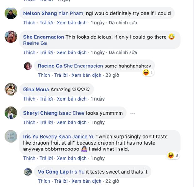 Bánh mì thanh long Việt Nam một lần nữa khiến dân mạng châu Á thán phục, nhận về hơn 22k like cùng hàng ngàn bình luận khen ngợi - Ảnh 3.