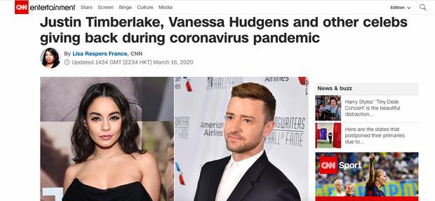 Ryan Reynolds thành sao ủng hộ nhiều nhất thế giới với 23 tỷ, Suga (BTS) lên hẳn CNN sau khi đóng góp chống dịch Covid-19 - Ảnh 2.