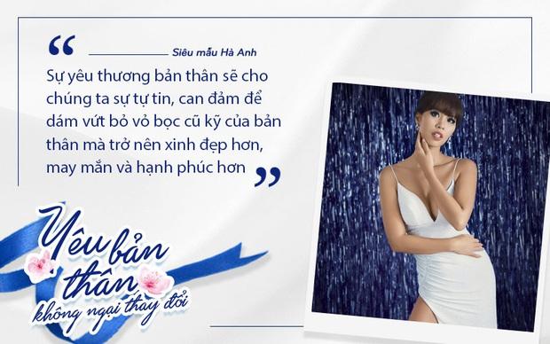Phạm Quỳnh Anh, Hà Anh, Hana Giang Anh hưởng ứng lời kêu gọi phái đẹp học cách yêu bản thân - Ảnh 5.