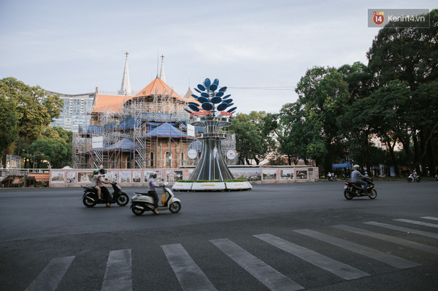 Nhiều điểm đến du lịch nổi tiếng nhất Sài Gòn đìu hiu vì vắng khách, chưa bao giờ thành phố nhộn nhịp lại khác lạ đến vậy - Ảnh 5.
