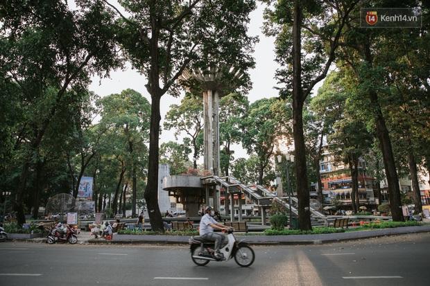 Nhiều điểm đến du lịch nổi tiếng nhất Sài Gòn đìu hiu vì vắng khách, chưa bao giờ thành phố nhộn nhịp lại khác lạ đến vậy - Ảnh 16.