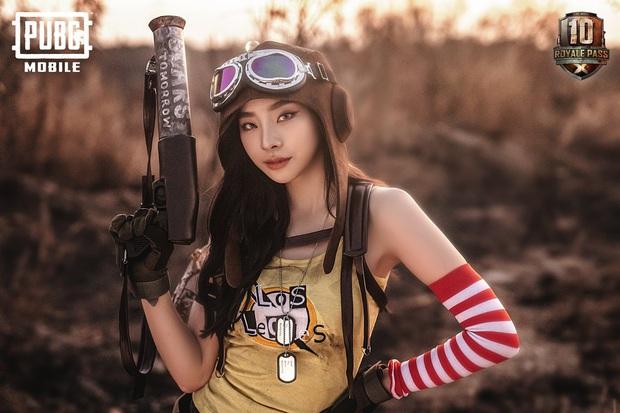 PUBG Mobile: Cosplayer Thái Lan đốn đổ mọi game thủ trong bộ ảnh nữ xạ thủ nóng bỏng - Ảnh 2.