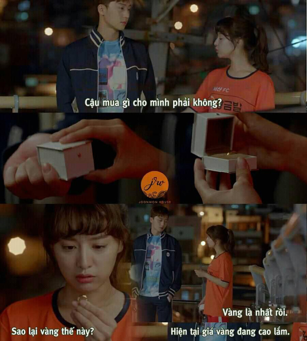 Nhờ sợi dây chuyền oan nghiệt, Kim Ji Won bỗng thành nữ chính đặc biệt nhất của Park Seo Joon, bứt phá hơn hẳn 3 cô còn lại - Ảnh 6.