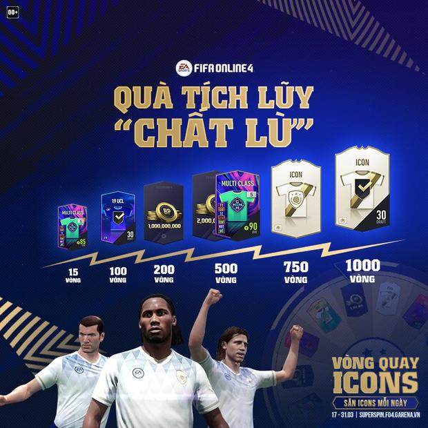 FIFA Online 4: Game thủ háo hức với sự kiện săn ICONS miễn phí mỗi ngày được áp dụng trên cả FO4 Mobile! - Ảnh 3.