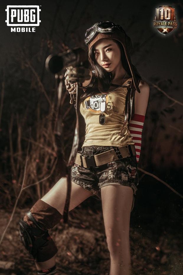 PUBG Mobile: Cosplayer Thái Lan đốn đổ mọi game thủ trong bộ ảnh nữ xạ thủ nóng bỏng - Ảnh 5.
