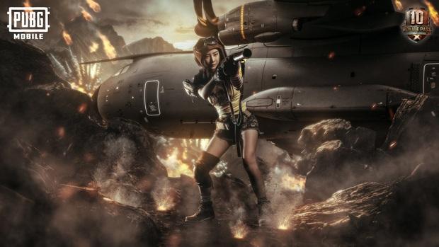 PUBG Mobile: Cosplayer Thái Lan đốn đổ mọi game thủ trong bộ ảnh nữ xạ thủ nóng bỏng - Ảnh 7.