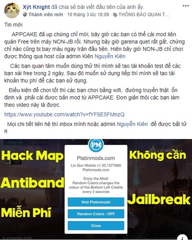 Liên Quân Mobile: Garena tiếp tục đẩy mạnh quét hack trên hệ điều hành iOS, hacker bay màu hàng loạt! - Ảnh 1.