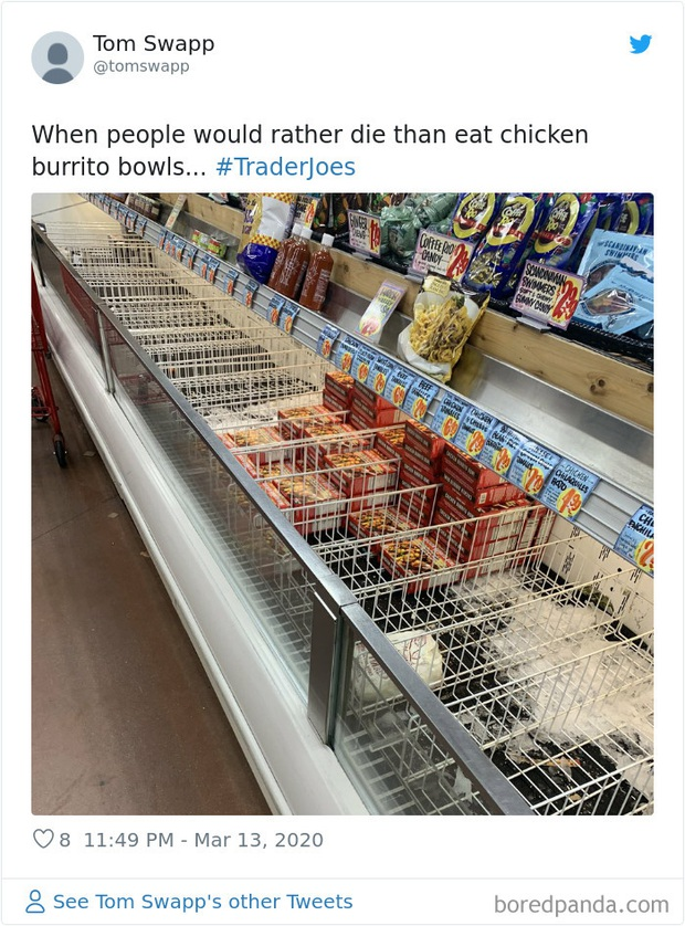 Điểm danh những sản phẩm bị hắt hủi tại loạt siêu thị ở Mỹ, châu Âu mùa dịch bệnh Covid-19 - Ảnh 13.
