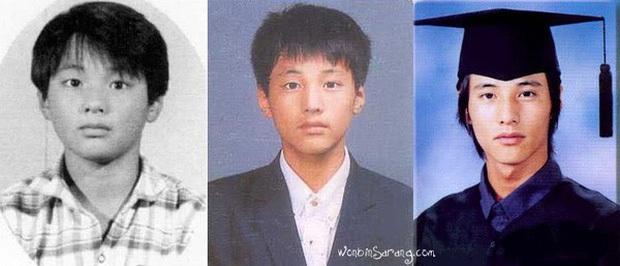 10 minh tinh có ảnh tốt nghiệp hot nhất Kbiz: Kiểu đầu Kim Tae Hee gây sốc, Song Joong Ki - Won Bin chưa xuất sắc bằng đàn em? - Ảnh 3.