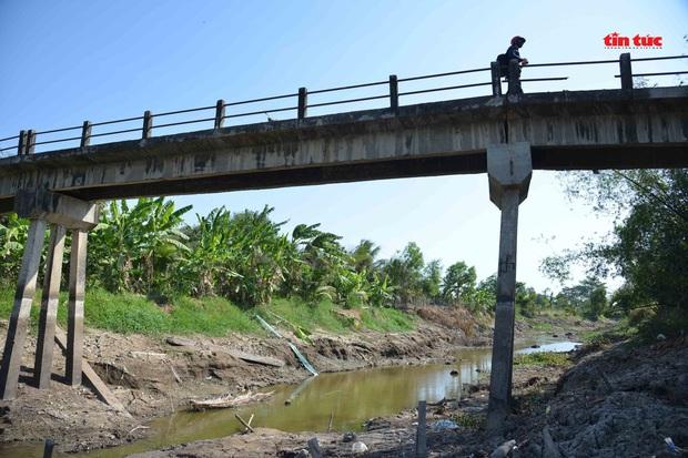 Cận cảnh hạn mặn khốc liệt nhất lịch sử ở Tây Nam Bộ - Ảnh 5.