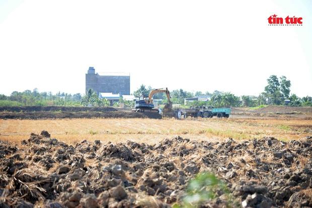 Cận cảnh hạn mặn khốc liệt nhất lịch sử ở Tây Nam Bộ - Ảnh 8.