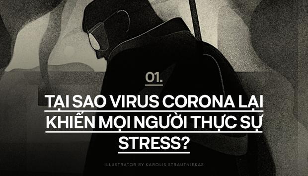 Sống trong mùa Covid-19: Đừng để dịch bệnh biến cuộc sống của bạn chìm trong áp lực - Ảnh 1.