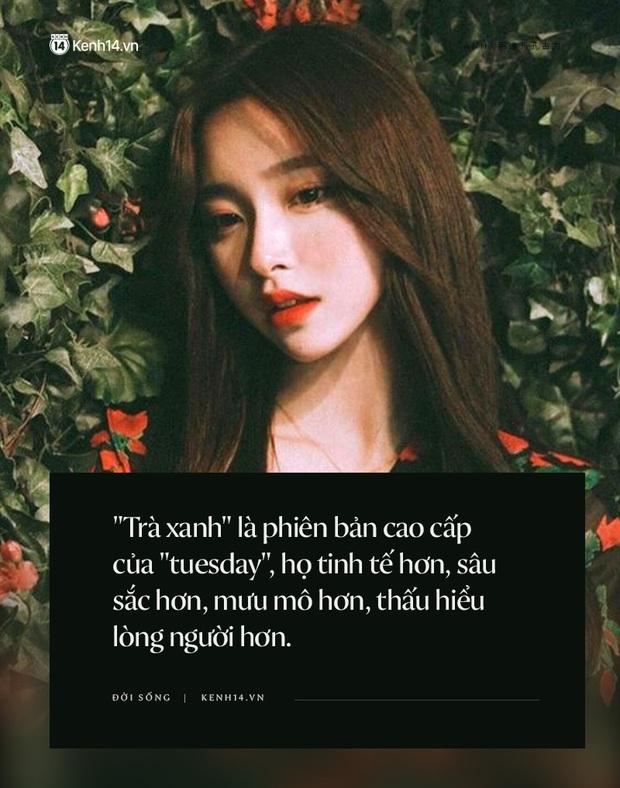 Hơn cả Tuesday, trà xanh là thể loại con gái mới mà các thanh niên phải tránh càng xa càng tốt - Ảnh 2.