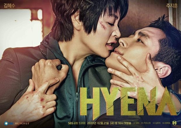 Nụ hôn vồ vập chốn công sở của anh phi công HYENA ghi bàn 1 triệu lượt xem, đốt nóng BXH xứ Hàn - Ảnh 1.