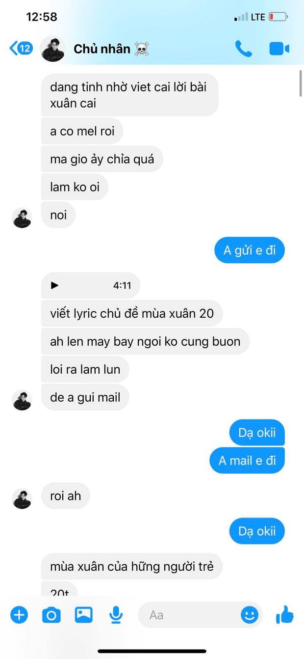 Cập nhật scandal cực căng: Lyly tung loạt tin nhắn tố Châu Đăng Khoa nói sai sự thật, từng xin để tên nhạc sĩ dù không sáng tác ca khúc - Ảnh 3.