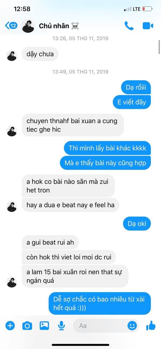 Cập nhật scandal cực căng: Lyly tung loạt tin nhắn tố Châu Đăng Khoa nói sai sự thật, từng xin để tên nhạc sĩ dù không sáng tác ca khúc - Ảnh 5.
