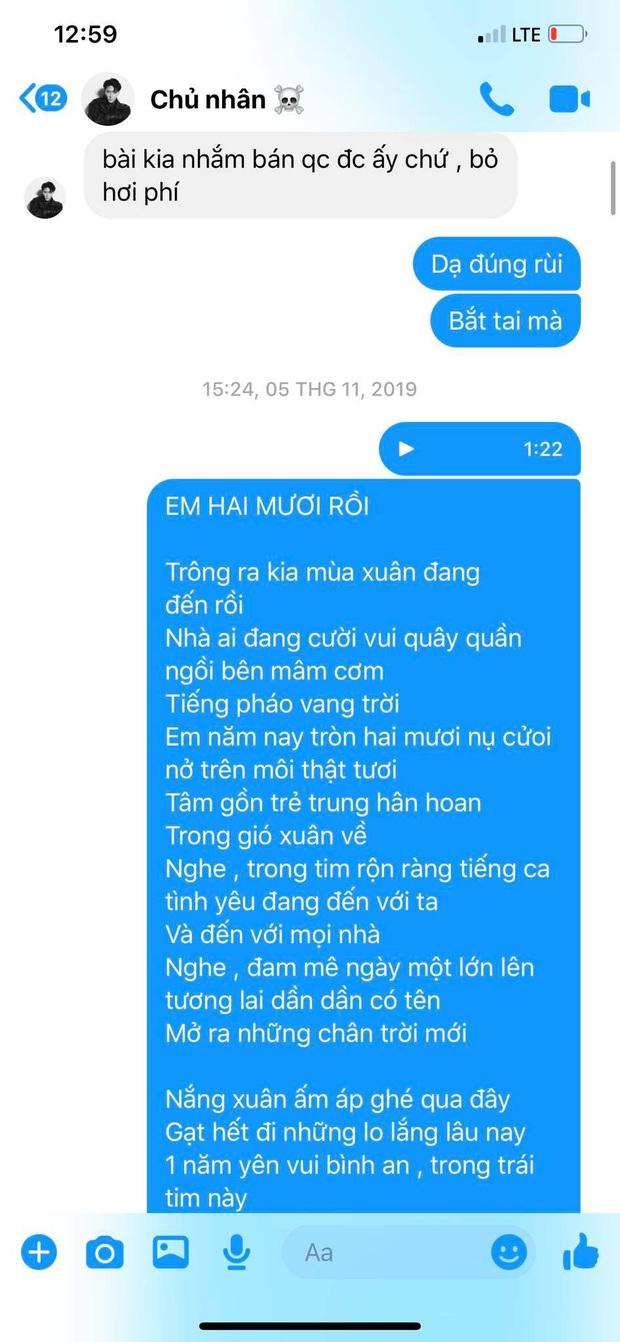Cập nhật scandal cực căng: Lyly tung loạt tin nhắn tố Châu Đăng Khoa nói sai sự thật, từng xin để tên nhạc sĩ dù không sáng tác ca khúc - Ảnh 7.