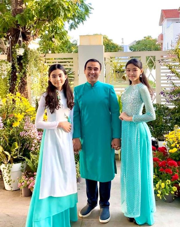 Bà xã MC Quyền Linh khoe ảnh dậy thì thành công của con gái, từ nụ cười đến dáng đứng của Lọ Lem đều lộ rõ khí chất Hoa hậu - Ảnh 2.