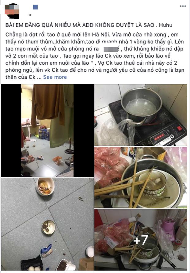Em gái nuôi ở bẩn kinh hoàng bị bóc phốt lên mạng xã hội: Phòng trọ bừa bộn, bát đũa mốc meo, bốc mùi thum thủm - Ảnh 2.